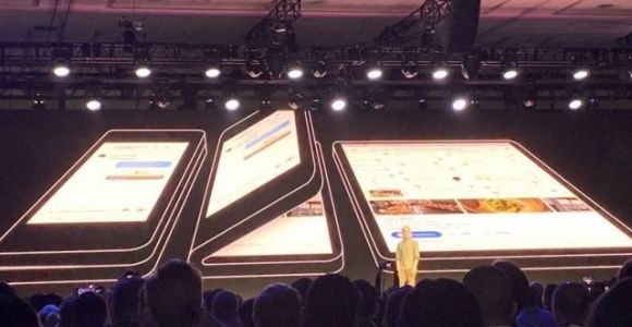 Samsung's Foldable Phone Showcased to Selected Customers
