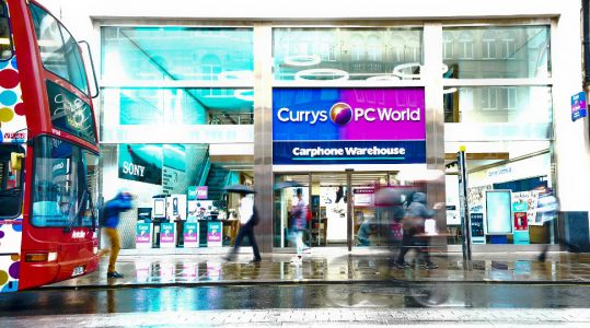 Dixons Carphone posts £440m loss