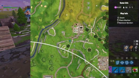 Fortnite Challenge Guide: Where To Find Risky Reels Treasure Map