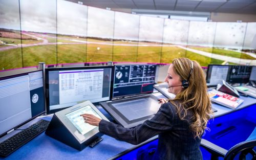 UK's first digital air traffic control centre opens in Bedfordshire
