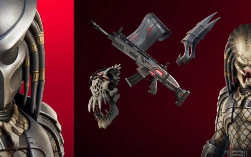 Fortnite update released: Predator, Jungle Hunter, one big alien skull!