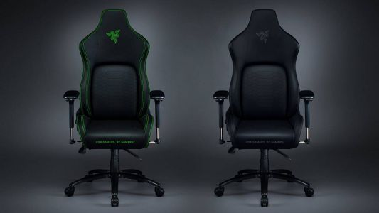 Razer Iskur Gaming Chair Now Comes In Sleek All-Black Design