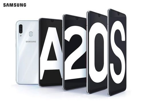 Samsung Galaxy A20s Announced with Triple Rear Camera