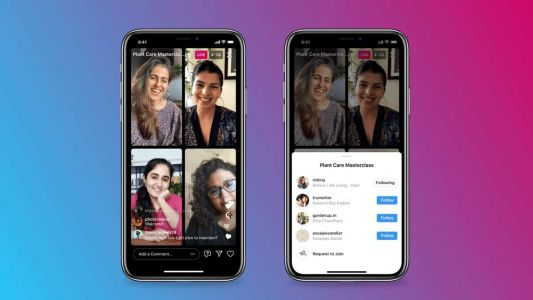 Instagram Live Rooms Allows Four People To Live Stream Together