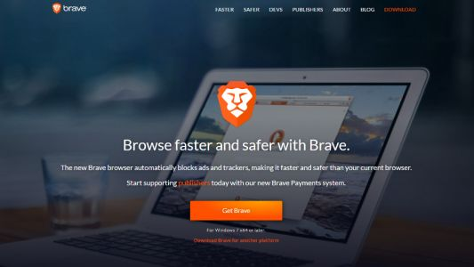 Tracker-blocking browser Brave comes out of beta