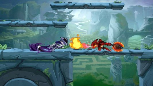 Free-to-play brawler 'Brawlhalla' gets cross-play between Xbox and Switch