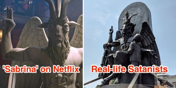 The Satanic Temple says it's 'finalizing an amicable settlement' with Warner Bros. to its lawsuit over a goat-headed statue in Netflix's 'Sabrina' reboot