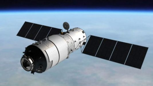 Stop Easter Egg Hunting And Watch the Reentry of a Chinese Space Station