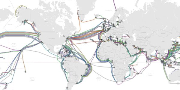 This incredible map shows the undersea cables that keep the internet alive - and security services are worried Russia could cut them