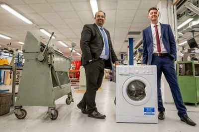 Student finds way to save energy by making lighter washing machine