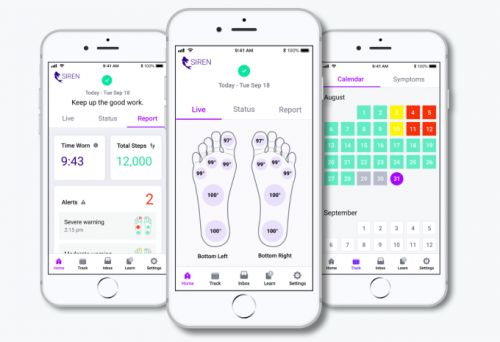 Siren raises $11.8M for its limb-saving smart socks