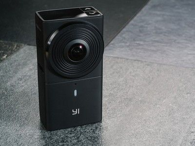 See the world all around you in 4K with the $185 Yi 360 panoramic camera