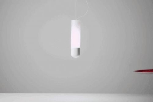 This lamp can detect ambient color and change its light to match