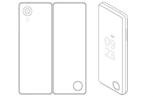 LG folding phone patent shows handset transform into tablet
