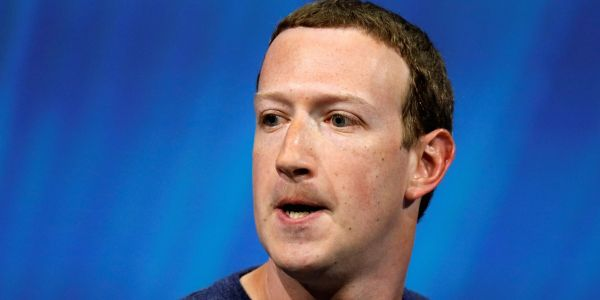 Mark Zuckerberg reportedly told Facebook execs the company's at 'war,' called recent media coverage 'bulls--'