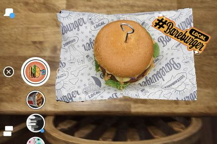 You AR what you eat - augmented reality menus are coming to Snapchat