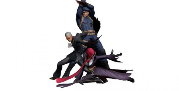 The King of Fighters XIV's new characters Najd, Heidern, and Oswald will be playable at events in Japan this weekend