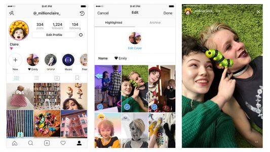 Instagram introduces Stories Highlights and Stories Archive