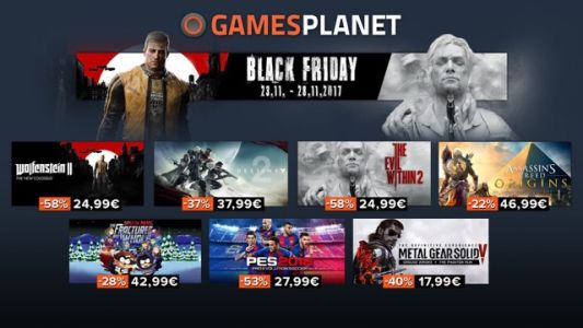 Gamesplanet:  20 promos à ne pas rater pendant le Black Friday