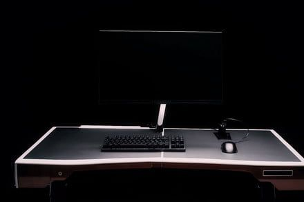 The Unevn One is a portable desk that brings PC gaming on the road