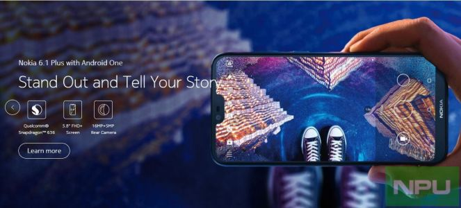Hong Kong gets Nokia 6.1 Plus before Taiwan. Details Inside