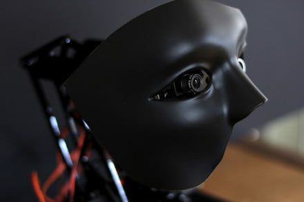Creepy robot mask will teach you to program artificially intelligent robots