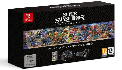 A GameCube Controller Comes With Super Smash Bros. Ultimate's Limited Edition