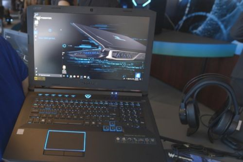 The Acer Predator Helios 500 is a gaming laptop that's overclockable in all the right places