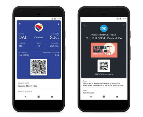 Google Pay gains support for storing tickets, making peer-to-peer payments