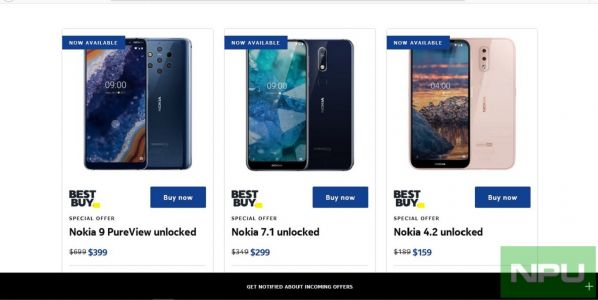 Nokia US seasonal offers: Big discounts on Nokia 9 PureView, 7.1, 4.2, 2.2 & 3.1 Plus