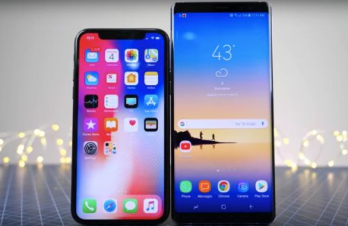 The iPhone X was the top-selling smartphone over the holidays, report claims