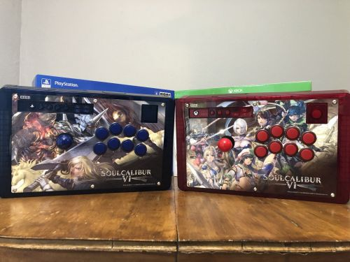 Shoryuken review: HORI Real Arcade Pro SoulCalibur VI Edition arcade sticks for PlayStation 4/Xbox One
