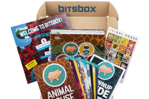 Get your kids started on JavaScript with 50% off a Bitsbox coding subscription box
