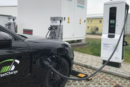 Porsche and BMW unveil EV charger that's three times faster than Tesla's