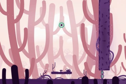 Semblance resembles a platforming game until you start deforming the world