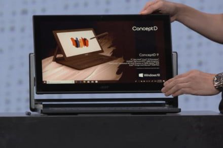 Acer's ConceptD laptops and desktops give artists quiet gaming power