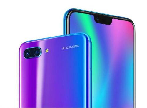 The Honor 10 is a iPhone X knockoff for half the price
