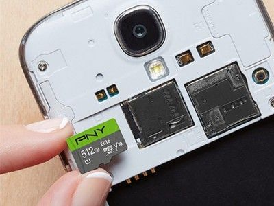 Save $80 on PNY's 512GB Elite microSD card for a limited time