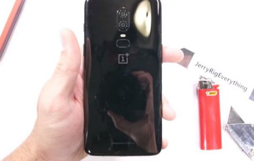 OnePlus 6 durability test shows it's worth more than its price