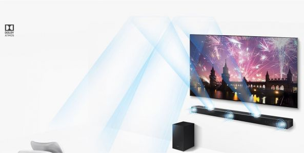 Deal: Samsung 3.1.2 Channel Soundbar & Wireless Subwoofer With Dolby Atmos For $606 At Amazon - October 2018