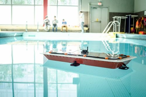 Researchers develop self-driving boats that can double as bridges