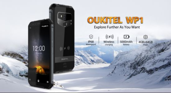 OUKITEL WP1 Works Underwater, Promotion Activity Offers Lowest Price