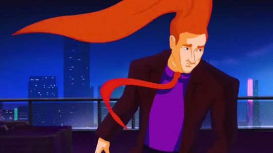 CONAN Gets a Hilarious SPIDER-MAN: INTO THE SPIDER-VERSE Opening for Comic-Con