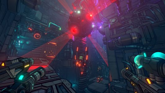 'Gunhead' puts an artistic twist on a first-person shooter game