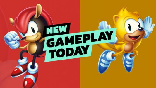 New Gameplay Today - Sonic Mania Plus
