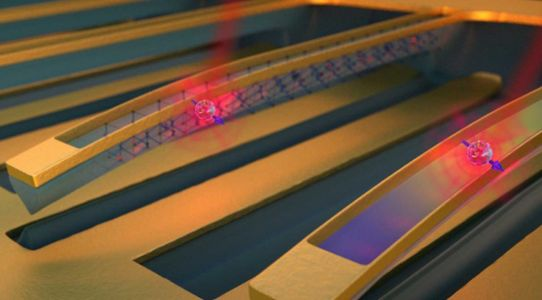 Diamond 'guitar' strings could lead to quantum computer memory