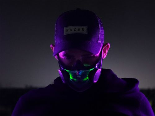 Razer's upcoming RGB facemask isn't just about flashy lights