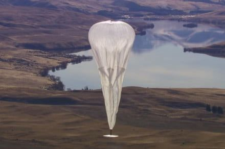 Google's balloon internet is coming to Kenya in 2019