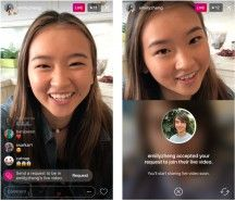 Instagram Now Lets People Request to Join Live Video