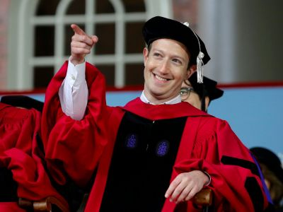 'Change starts local' - Watch Mark Zuckerberg's politically charged Harvard speech